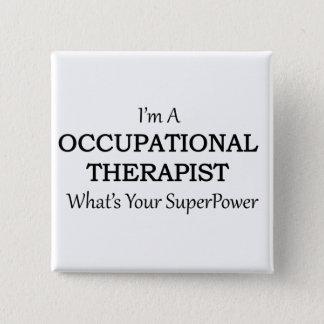 Chapa Cuadrada Terapeuta profesional