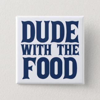 Chapa Cuadrada Tipo con el azul de la comida