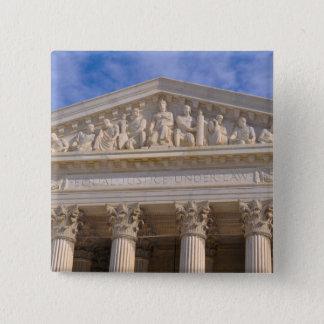 Chapa Cuadrada Tribunal Supremo de los Estados Unidos