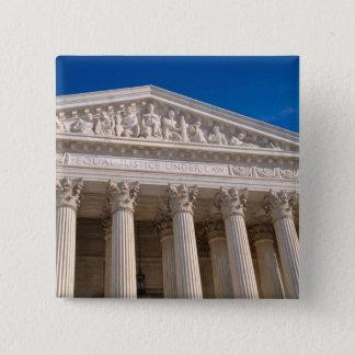 Chapa Cuadrada Tribunal Supremo de los Estados Unidos de América