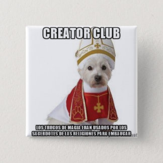 Chapa Cuadrada Trucos de magia sacerdotes