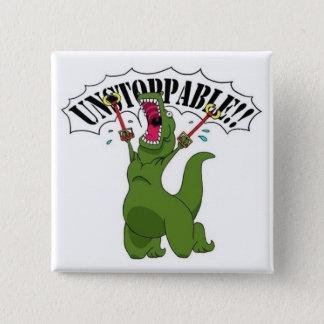 Chapa Cuadrada Unstopable T-Rex
