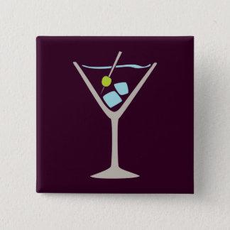 Chapa Cuadrada Vidrio de Martini