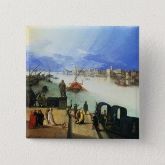 Chapa Cuadrada Vista de Venecia