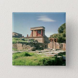 Chapa Cuadrada Vista del palacio de Knossos