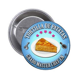 Chapa Grado Master Chef en Tortilla de Patatas Chapa Redonda 5 Cm