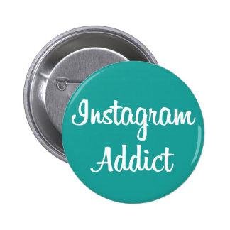 Chapa Instagram Addict Chapa Redonda 5 Cm