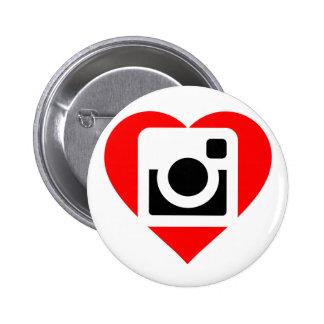Chapa Instagram Lover Chapa Redonda 5 Cm