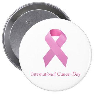 Chapa / Pin Día Internacional del Cancer