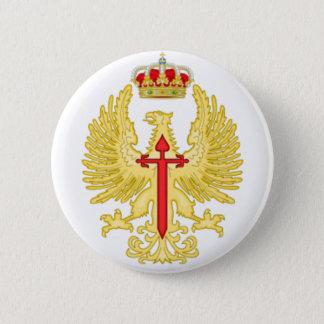 Chapa pin. Emblema Ejército de Tierra Español.