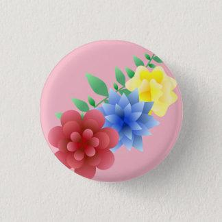 Chapa pin flores flower