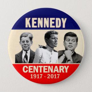 Chapa Redonda De 10 Cm 100o cumpleaños de JFK