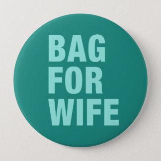Chapa Redonda De 10 Cm Bolso para la esposa