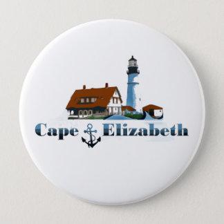 Chapa Redonda De 10 Cm Cabo Elizabeth