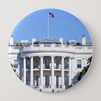 Chapa Redonda De 10 Cm Casa Blanca de los Estados Unidos - Washington DC