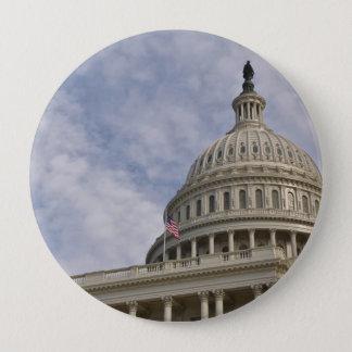 Chapa Redonda De 10 Cm Edificio de Capitol Hill en Washington DC