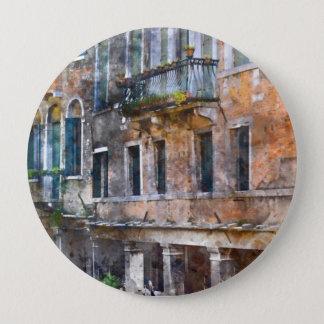 Chapa Redonda De 10 Cm Edificios de Venecia Italia