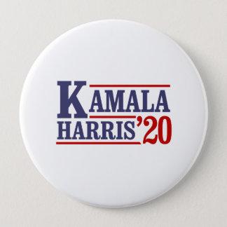 Chapa Redonda De 10 Cm Kamala Harris para el presidente en 2020 -
