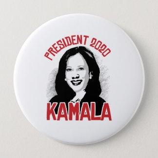 Chapa Redonda De 10 Cm Kamala para el presidente - 2020 -