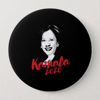 Chapa Redonda De 10 Cm Kamala para el presidente 2020 - caligrafía -