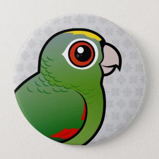 Chapa Redonda De 10 Cm Loro harinoso de Birdorable