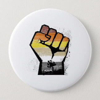 CHAPA REDONDA DE 10 CM LOS OSOS RESISTEN - RESISTENCIA DE LGBT -- -