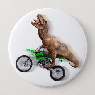Chapa Redonda De 10 Cm Motocicleta del rex de T - paseo del rex de t -