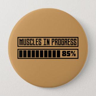 Chapa Redonda De 10 Cm Muscles el entrenamiento en curso Z8gnr