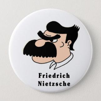 Chapa Redonda De 10 Cm Nietzsche