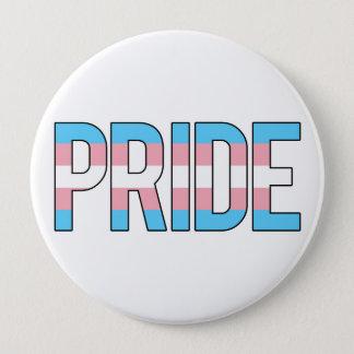 Chapa Redonda De 10 Cm Orgullo del transexual