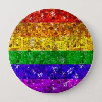 Chapa Redonda De 10 Cm Orgullo gay de la igualdad de la boda de la