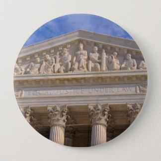 Chapa Redonda De 10 Cm Tribunal Supremo de los Estados Unidos