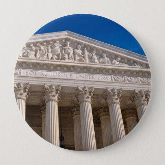 Chapa Redonda De 10 Cm Tribunal Supremo de los Estados Unidos de América