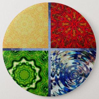 Chapa Redonda De 15 Cm Cinco elementos