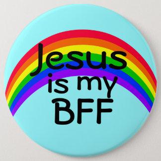 Chapa Redonda De 15 Cm Jesús es mi mejor amigo para siempre
