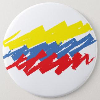 """Chapa Redonda De 15 Cm """"La tricolor """""""