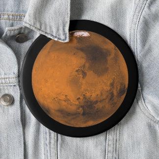 Chapa Redonda De 15 Cm Marte el planeta rojo en jumbo del espacio