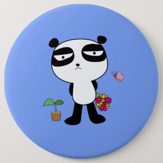 Chapa Redonda De 15 Cm Panda