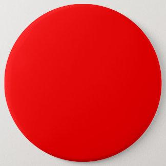 Chapa Redonda De 15 Cm Papel pintado colorido de la plantilla roja del