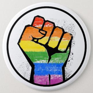 CHAPA REDONDA DE 15 CM RESISTENCIA DE LGBTQ - -