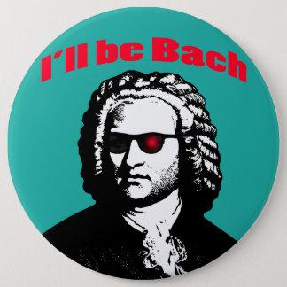 Chapa Redonda De 15 Cm Seré Bach