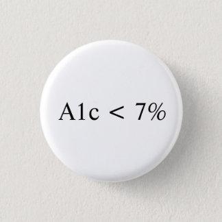 Chapa Redonda De 2,5 Cm A1c el < 7%