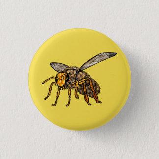 Chapa Redonda De 2,5 Cm Abeja de Hiv'in de la abeja