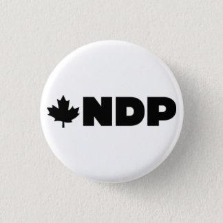 Chapa Redonda De 2,5 Cm Alternativa del logotipo de NDP