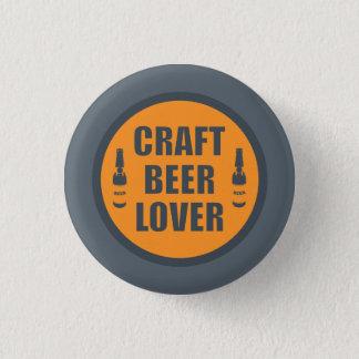Chapa Redonda De 2,5 Cm Amante 2 de la cerveza del arte