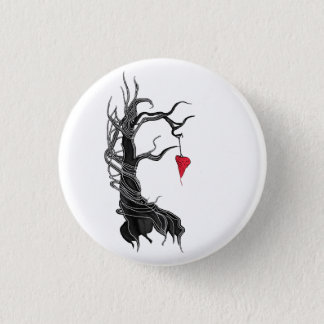Chapa Redonda De 2,5 Cm Amor, como un árbol