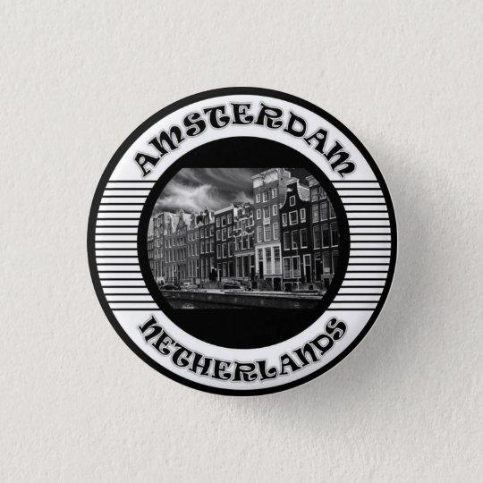 Chapa Redonda De 2,5 Cm amsterdam