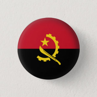 Chapa Redonda De 2,5 Cm Angola redonda