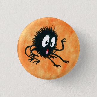 Chapa Redonda De 2,5 Cm ¡Araña Spooked!