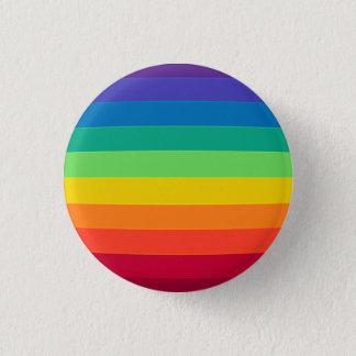Chapa Redonda De 2,5 Cm arco iris deformado